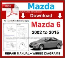 Mazda 6 Workshop Service Repair Manual pdf