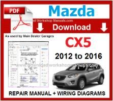 Mazda CX5 Workshop Repair Manual pdf