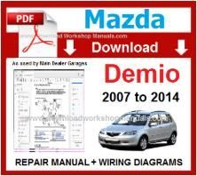 Mazda Demio Workshop Repair Manual pdf