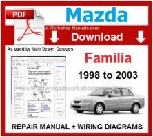 Mazda Familia Repair Manual Download