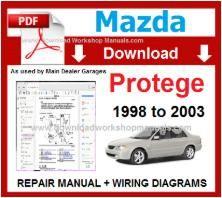 Mazda Protege Workshop Repair Manual pdf