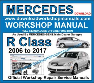 Mercedes R Class Workshop Repair Manual