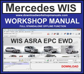 mercedes workshop service repair manual download