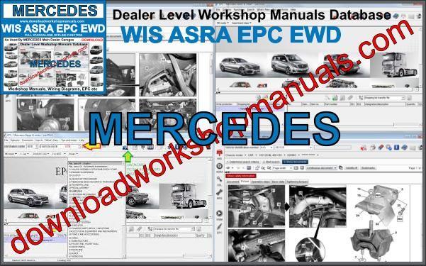 Mercedes Benz WIS ASRA EPC Service Repair Workshop Manual 1986-2018 DOWNLOAD