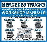 Mercedes Workshop Repair Manuals