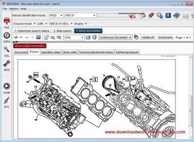 Mercedes Benz Complete Wiring Parts List from www.downloadworkshopmanuals.com