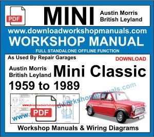 Austin Morris MINI Workshop Manual