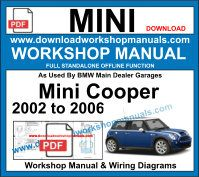 BMW Mini Cooper Workshop Repair Manuals Download