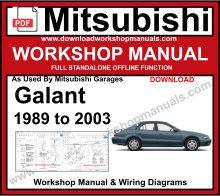 2012 mitsubishi galant repair manual