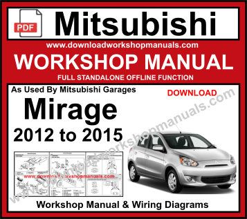 mitsubishi Mirage service repair manual pdf