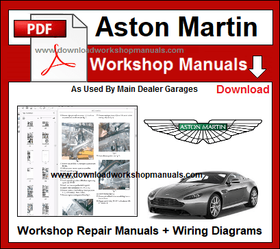 Aston Martin Workshop Repair Manuals Download