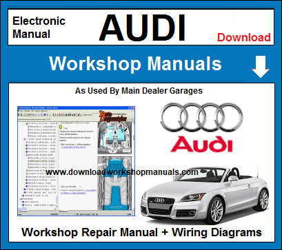 Audi Workshop Repair Manuals Download