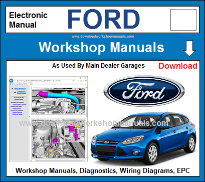 Ford Workshop Repair Manuals Download
