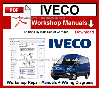 Iveco Workshop Repair Manuals Download