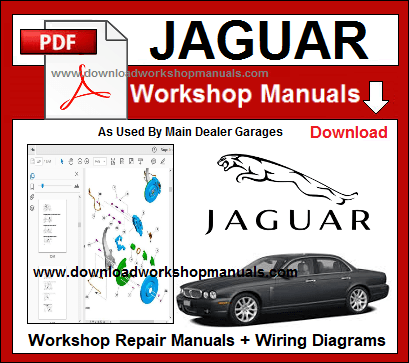 Jaguar Workshop Repair Manuals Download