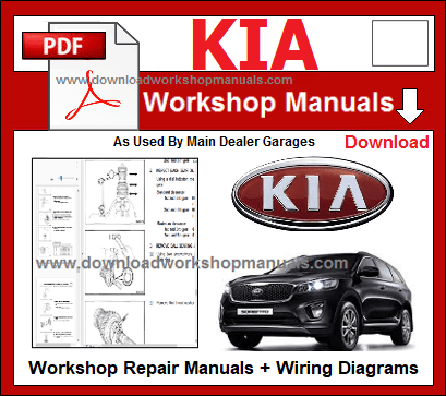Kia Workshop Repair Manuals Download