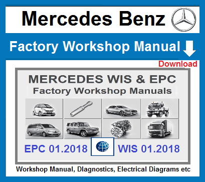 Mercedes Workshop Repair Manuals Download