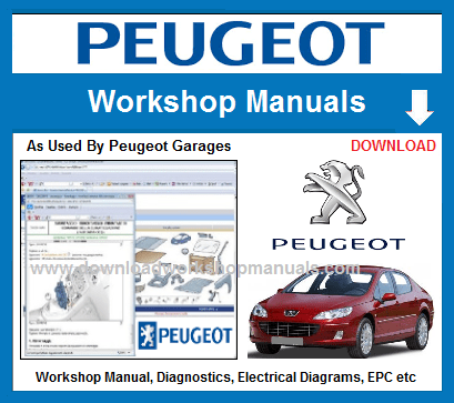 Peugeot Workshop Repair Manuals Download