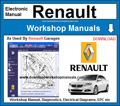 Renault Workshop Repair Manuals Download