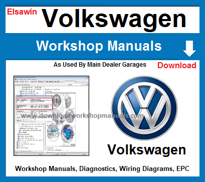 VW VolksWagen Workshop Repair Manuals Download