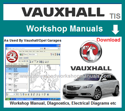 Vauxhall Workshop Repair Manuals Download