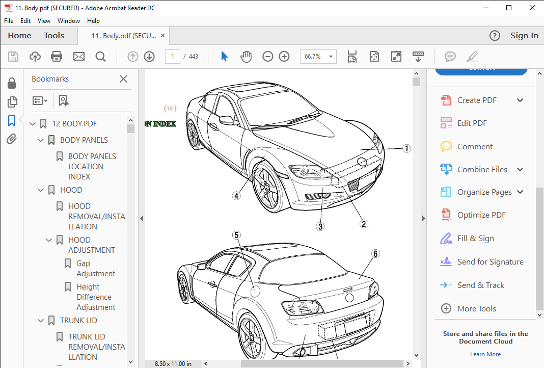 mazda rx 8 workshop manual download