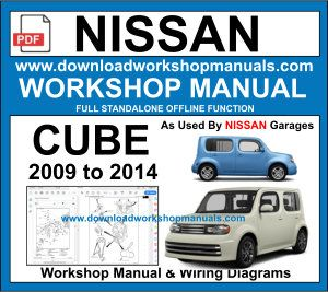 Nissan Cube Workshop Service Repair Manual pdf