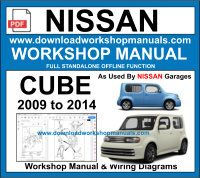 Nissan Cube Workshop Repair Manual