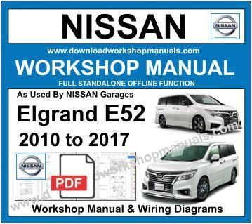 Wiring Diagram Nissan Elgrand - Wiring Diagram Shw on