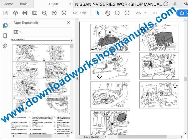 Nissan Nv Workshop Repair Manual