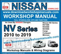 NISSAN WORKSHOP MANUALS