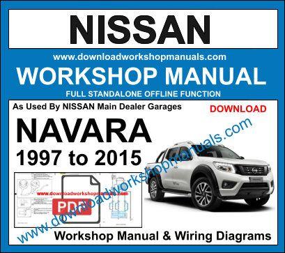 nissan navara workshop repair manual