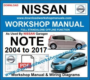 Nissan Note workshop service repair manual