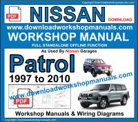 Nissan Patrol service repair workshop manual download