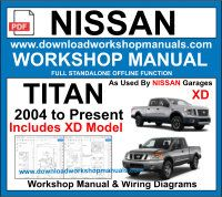 Nissan Titan Workshop Repair Manual