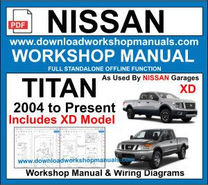 Nissan Titan Workshop Service Repair Manual PDF