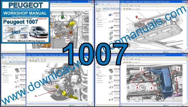 Peugeot 1007 Workshop Repair Manual
