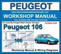 peugeot workshop manuals