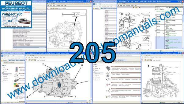 Peugeot 205 Workshop Service Repair Manual