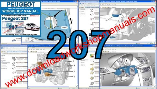 Peugeot 207 Workshop Repair Manual