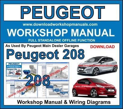 peugeot 208 workshop service repair manual