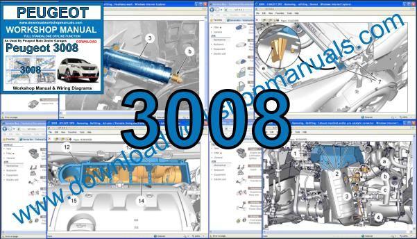 Peugeot 3008 Workshop Repair Manual Download