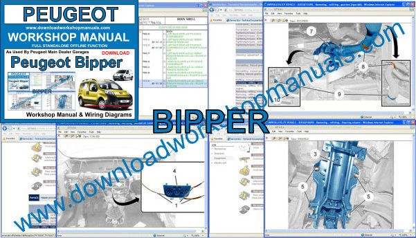Peugeot Bipper Workshop Repair Manual