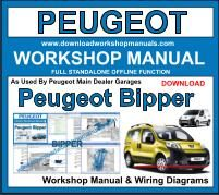 peugeot bipper workshop repair manual download