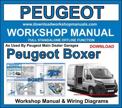 Peugeot Boxer Workshop Repair Manual on Wiring Diagrams 2000 Range Rover
