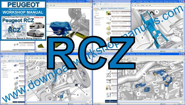 Peugeot RCZ workshop manual