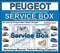 peugeot partner 2003 repair service manual