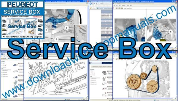 Peugeot Service Box workshop manual