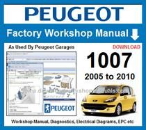 Peugeot 1007 Workshop Repair Manual Download