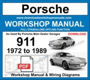 Porsche 911 Workshop Service Repair Manual